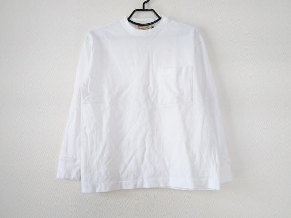 トラディショナルウェザーウェア 長袖Tシャツ サイズXS メンズ美品  白