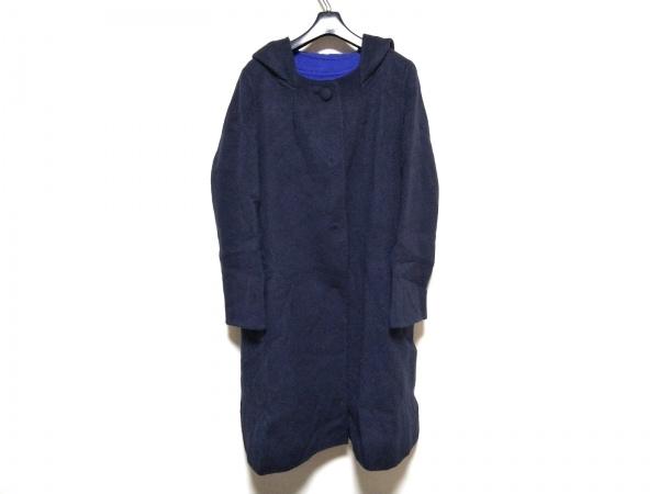 TABASA(タバサ) コート サイズ34 S レディース美品  ダークネイビー 冬物