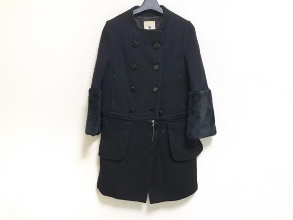 A(エイス) コート サイズ1 S レディース美品  黒 冬物