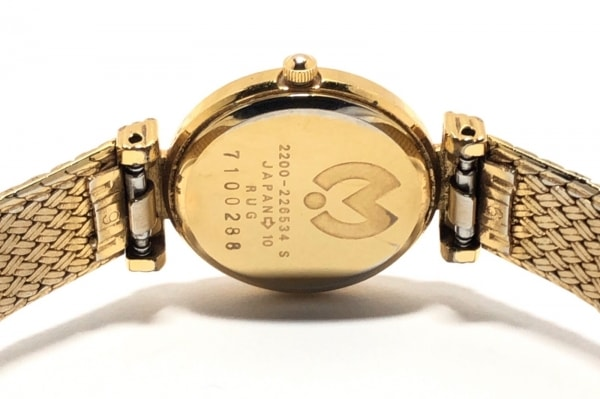 mila schon(ミラショーン) 腕時計 2200-226534 レディース 白