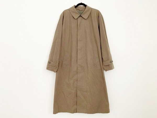 ErmenegildoZegna(ゼニア) コート サイズ46 XL メンズ カーキ 春・秋物