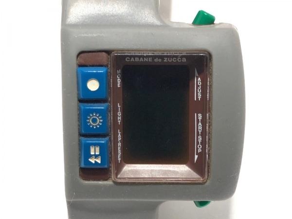 ZUCCA(ズッカ) 腕時計美品  W621-4000 レディース ラバーベルト ボルドー