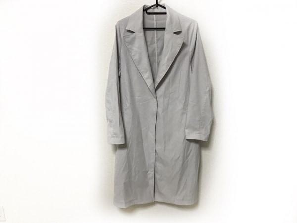 ロートレアモン コート サイズ38 M レディース美品  ライトグレー 春・秋物