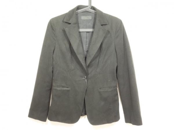 ICB(アイシービー) ジャケット サイズ9 M レディース美品  黒 ピーチスキン