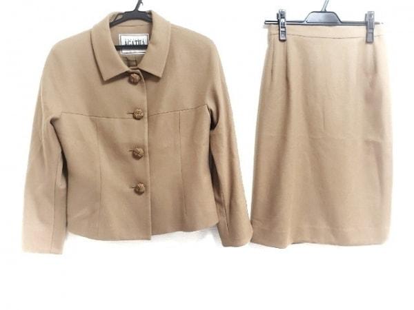 AGATHA(アガタ) スカートスーツ レディース新品同様  ライトブラウン
