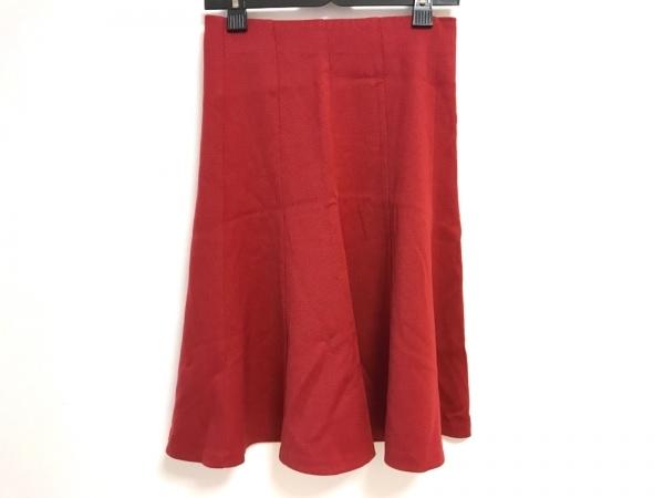 D&G(ディーアンドジー) スカート サイズ40 M レディース美品  レッド