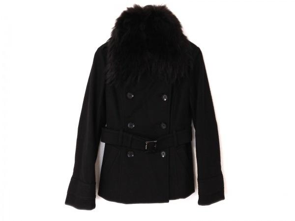 LEJOUR(ルジュール) コート サイズ38 M レディース 黒 ショート丈/ファー/冬物
