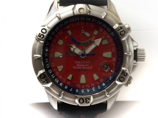 ORIENT(オリエント) 腕時計 EX01-C2 メンズ レッド