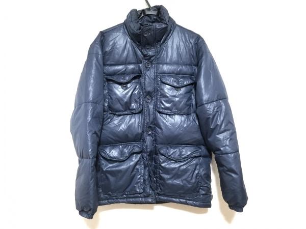 AVIREX(アビレックス) ダウンジャケット サイズL メンズ ネイビー 冬物