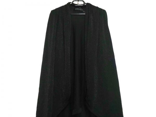 ノーベスパジオ カーディガン サイズ38 M レディース美品  黒 ラメ/ロング丈