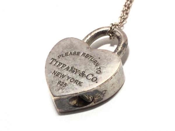 TIFFANY&Co.(ティファニー) ネックレス美品  リターントゥハートロック シルバー