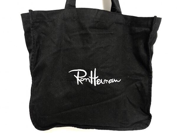 Ron Herman(ロンハーマン) トートバッグ 黒 キャンバス