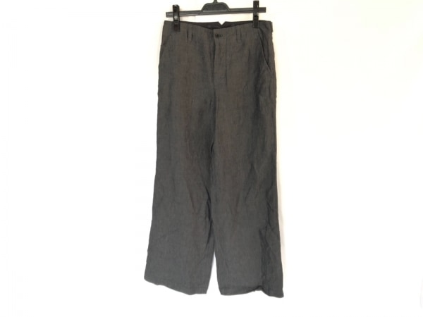MargaretHowell(マーガレットハウエル) パンツ サイズ2 M レディース ダークグレー 麻