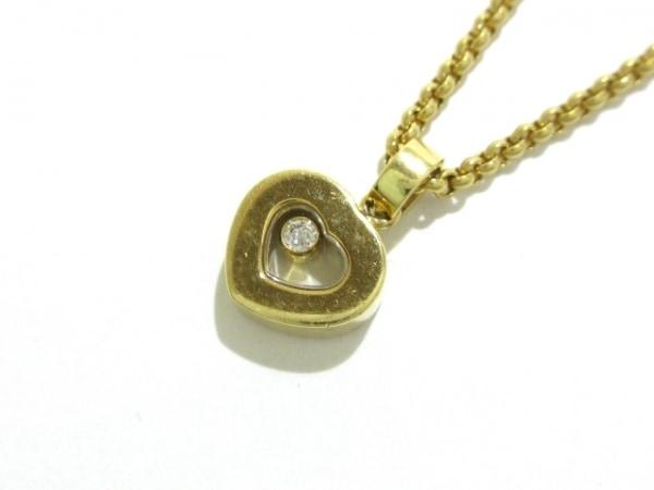 Chopard(ショパール) ネックレス ハッピーダイヤ 79/2897 K18YG×ダイヤモンド