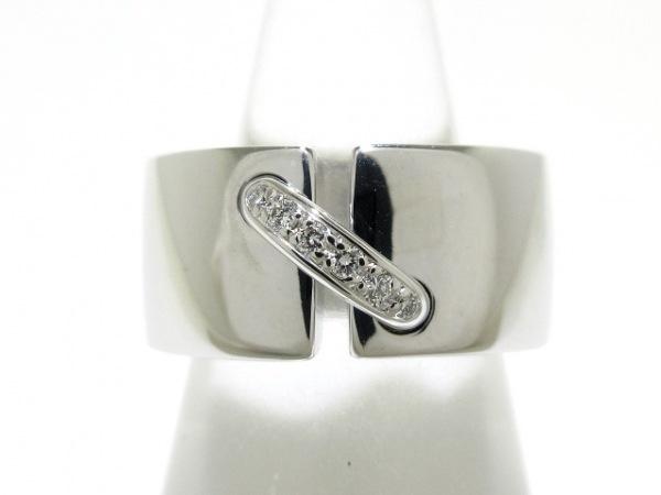 CHAUMET(ショーメ) リング美品  リアン・ドゥ・ショーメ K18WG×ダイヤモンド