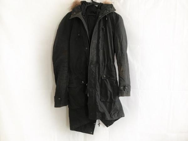 COMME CA MEN(コムサメン) コート サイズL メンズ 黒 冬物