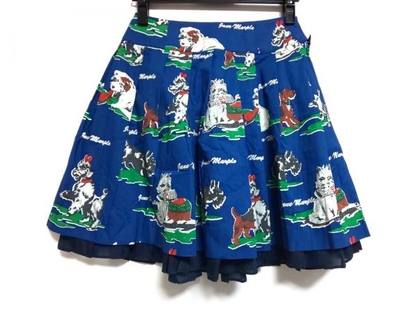 Jane Marple(ジェーンマープル) スカート サイズM レディース美品  犬