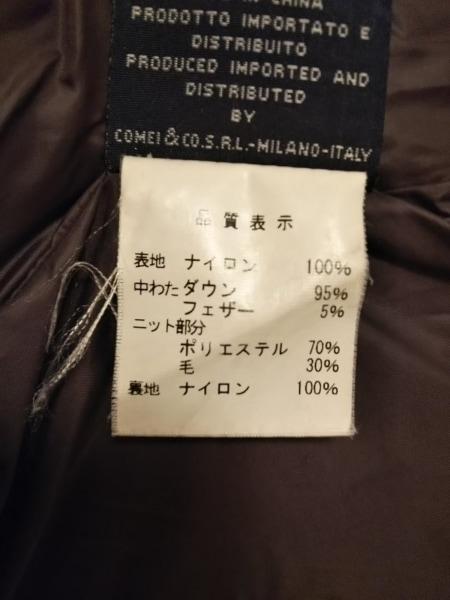 アッド・エーディーディー ダウンコート サイズ40 M レディース美品  ダークブラウン