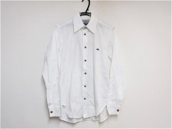 ヴィヴィアンウエストウッドマン 長袖シャツ サイズ1 S メンズ 白