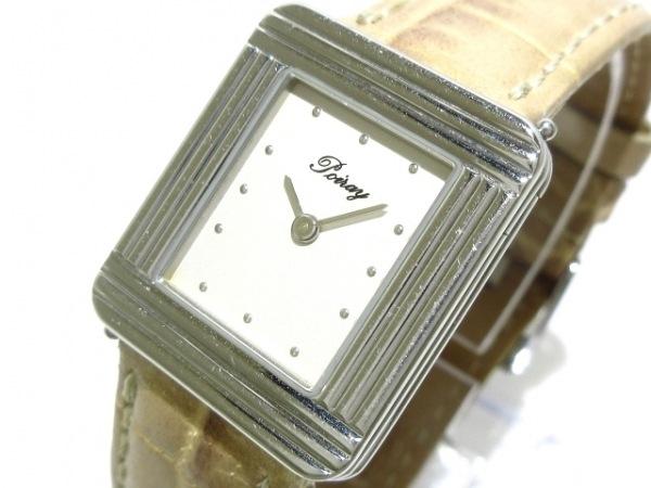 poiray(ポアレ) 腕時計 マ・プルミエ - レディース SS/社外革ベルト アイボリー