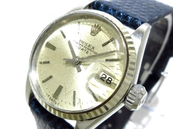 ROLEX(ロレックス) 腕時計 オイスターパーペチュアルデイト 6517 レディース シルバー
