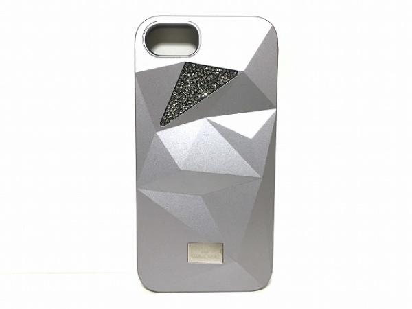 SWAROVSKI(スワロフスキー) 携帯電話ケース シルバー iPhone7スマートフォンケース