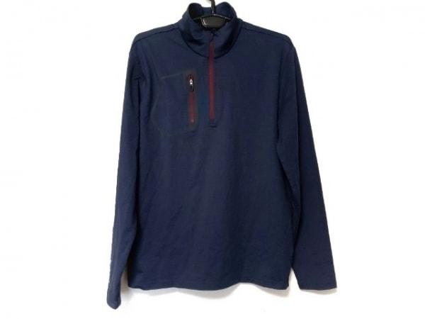 RLX(RalphLauren)(ラルフローレン) 長袖ポロシャツ サイズM メンズ新品同様  ネイビー