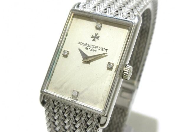 VACHERON CONSTANTIN(ヴァシュロンコンスタンタン) 腕時計 - レディース 白