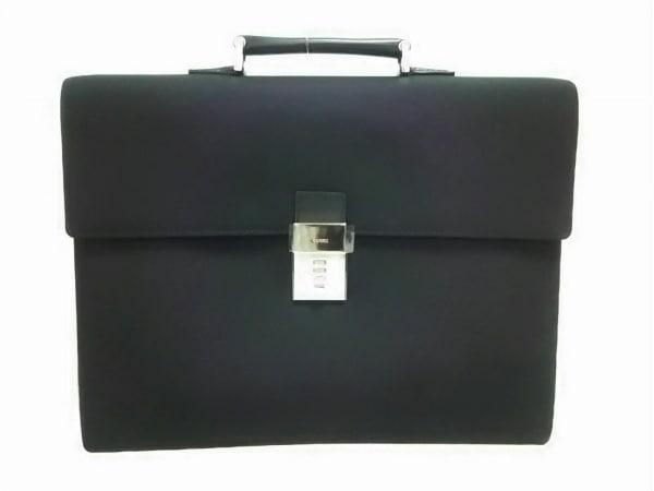 グッチ ビジネスバッグ新品同様  - 34045 黒 ロックナンバー「000」 ナイロン×レザー