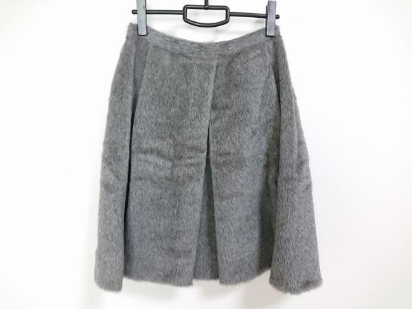 マウリツィオペコラーロ スカート サイズ8USA レディース美品  グレー