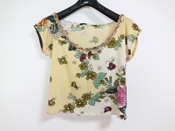 マウリツィオペコラーロ 半袖Tシャツ サイズ6 USA レディース 花柄/フリル