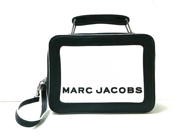 マークジェイコブス ハンドバッグ カラーブロックド ザ ボックス 20 M0014506 黒×白