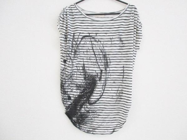 Re.Verofonna(ヴェロフォンナ) ノースリーブカットソー サイズ38 M レディース 白×黒