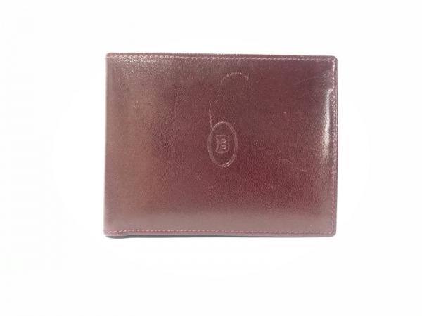 BALLY(バリー) 2つ折り財布 ダークブラウン レザー