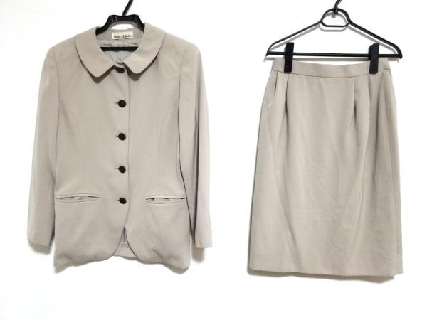 MISS CHLOE(クロエ) スカートスーツ サイズ42 L レディース美品  ベージュ