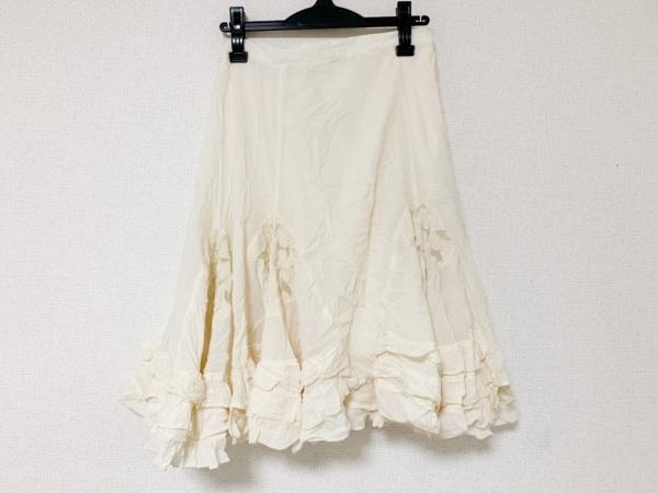 COCUE(コキュ) スカート サイズ02 M レディース アイボリー