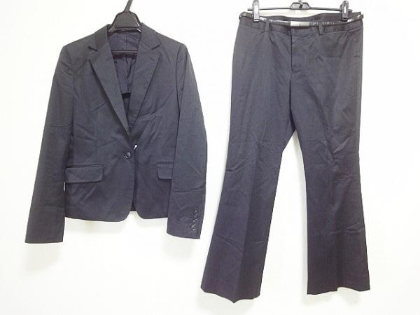 COMME CA DU MODE(コムサデモード) シングルスーツ サイズ13 メンズ 黒 ストライプ