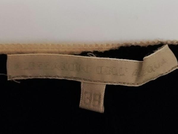 アレッサンドロデラクア 七分袖カットソー サイズ38 M レディース新品同様  黒 ビーズ