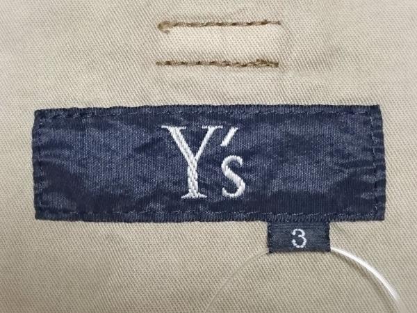 Y's(ワイズ) ロングスカート サイズ3 L レディース ライトカーキ
