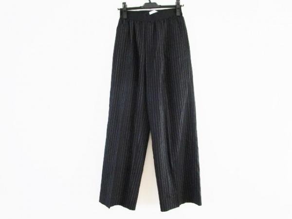ASTRAET(アストラット) パンツ サイズ0 XS レディース 黒×白 ストライプ