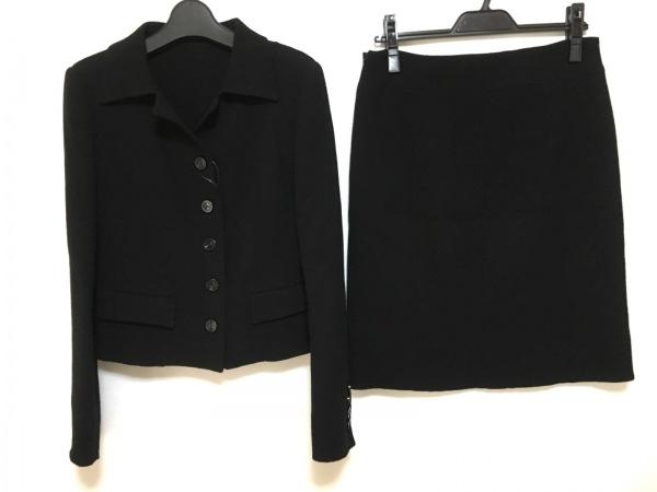 YOKO D'OR(ヨーコドール) スカートスーツ サイズ38 M レディース美品  黒