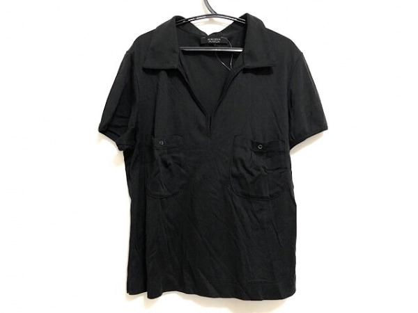 KRIZIA MAGLIA(クリッツィアマグリア) 半袖ポロシャツ レディース 黒