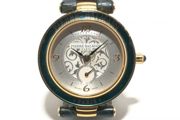 PIERRE BALMAIN(ピエールバルマン) 腕時計 178.1150H.3 レディース 革ベルト シルバー
