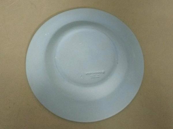 WEDG WOOD(ウェッジウッド) 小物新品同様  ジャスパー ブルー×白 ミニプレート 陶器