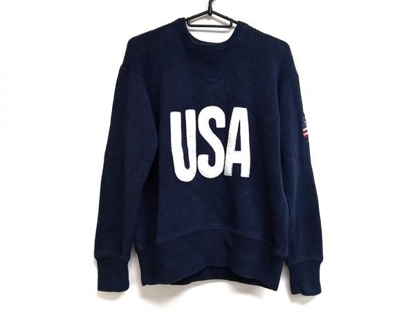 ポロスポーツラルフローレン 長袖セーター サイズS メンズ美品