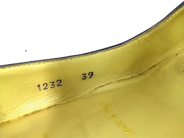 BRUNOMAGLI(ブルーノマリ) パンプス 39 レディース ネイビー レザー