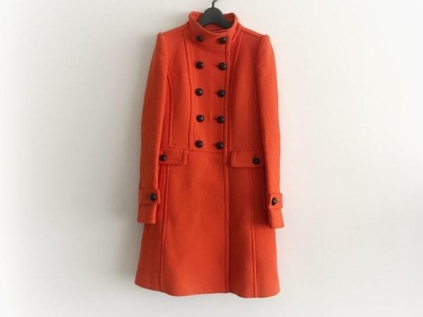 バーバリーブラックレーベル コート サイズ38 M メンズ美品  オレンジ×黒 冬物