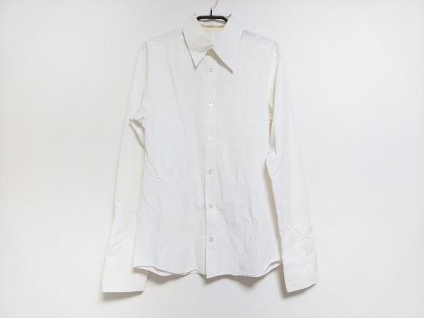 キャロルクリスチャンポエル 長袖シャツ サイズ46 XL メンズ 白