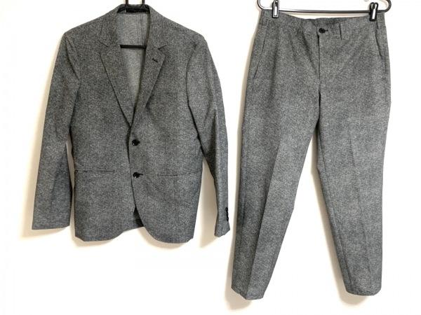 ザ ショップ ティーケー メンズスーツ サイズM メンズ 黒×ライトグレー