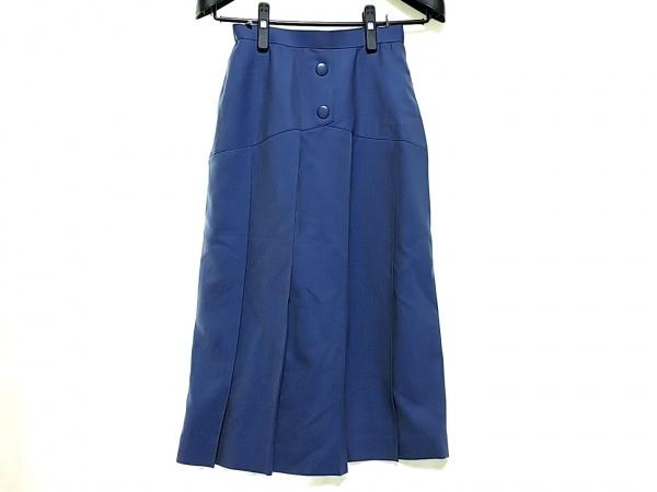 クリスチャンディオール スカート サイズM レディース ブルー PRET-A-PORTER